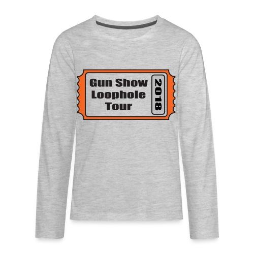 Gun Show Loophole Tour 2018 - Kids' Premium Long Sleeve T-Shirt