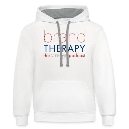 brand therapy mens hoodie - Contrast Hoodie