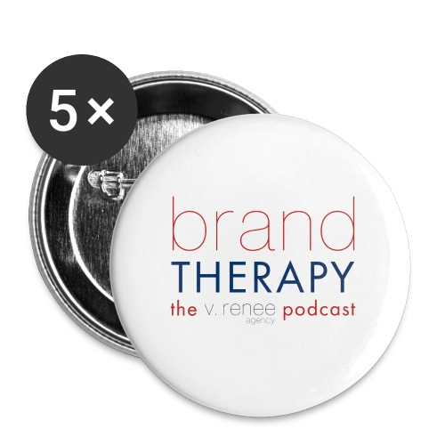 brand therapy mens hoodie - Buttons large 2.2'' (5-pack)