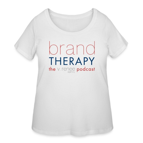 brand therapy mens hoodie - Women's Curvy T-Shirt