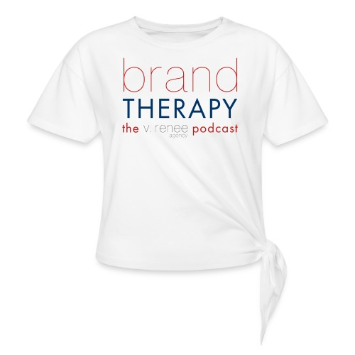 brand therapy mens hoodie - Women's Knotted T-Shirt