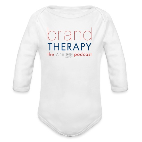 brand therapy mens hoodie - Organic Long Sleeve Baby Bodysuit