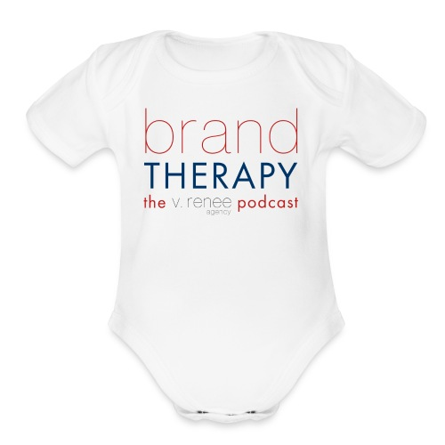 brand therapy mens hoodie - Organic Short Sleeve Baby Bodysuit