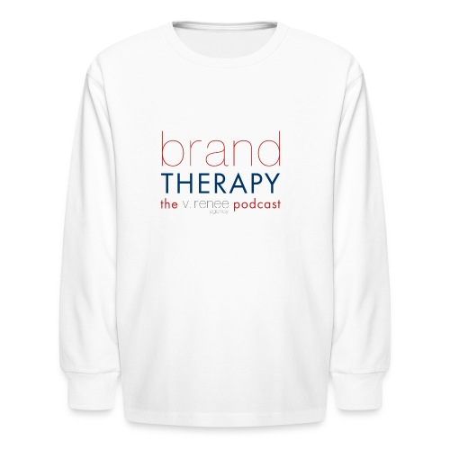 brand therapy mens hoodie - Kids' Long Sleeve T-Shirt