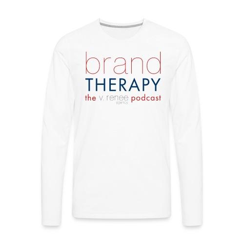 brand therapy mens hoodie - Men's Premium Long Sleeve T-Shirt