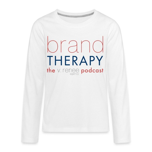 brand therapy mens hoodie - Kids' Premium Long Sleeve T-Shirt