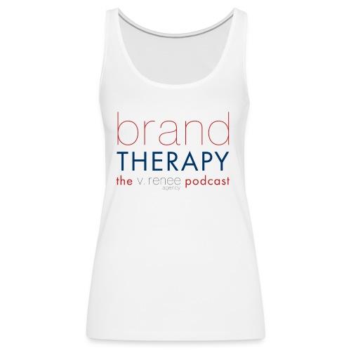 brand therapy mens hoodie - Women's Premium Tank Top