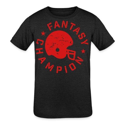 Fantasy Football Champ - Kids' Tri-Blend T-Shirt
