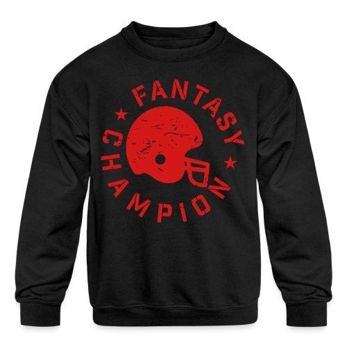 Fantasy Football Champ - Kids' Crewneck Sweatshirt
