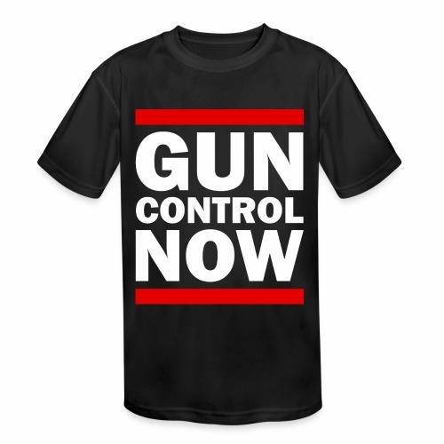 GUN CONTROL NOW - Kids' Moisture Wicking Performance T-Shirt