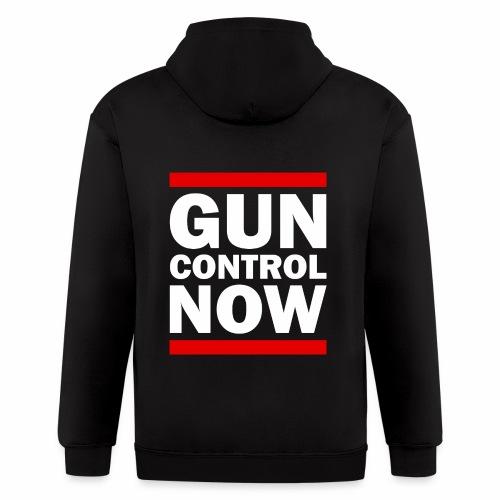 GUN CONTROL NOW - Men's Zip Hoodie