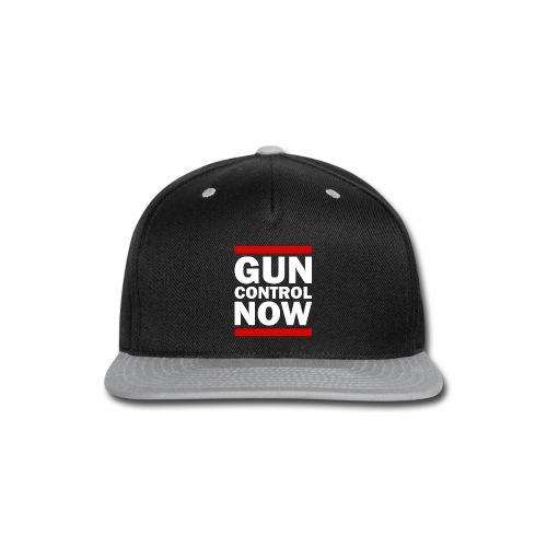 GUN CONTROL NOW - Snap-back Baseball Cap