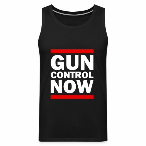 GUN CONTROL NOW - Men's Premium Tank