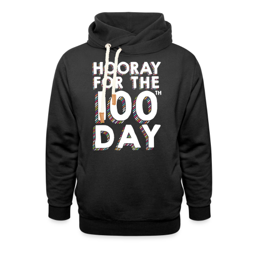 Hooray for the 100th Day | Colorful Sprinkles - Shawl Collar Hoodie