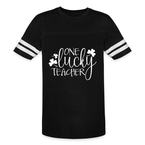 One Lucky Teacher - Vintage Sport T-Shirt