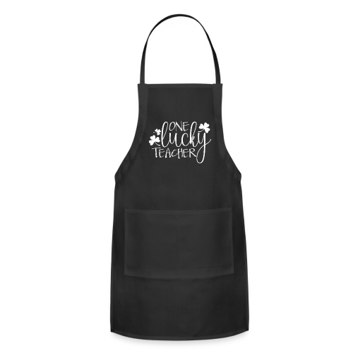 One Lucky Teacher - Adjustable Apron
