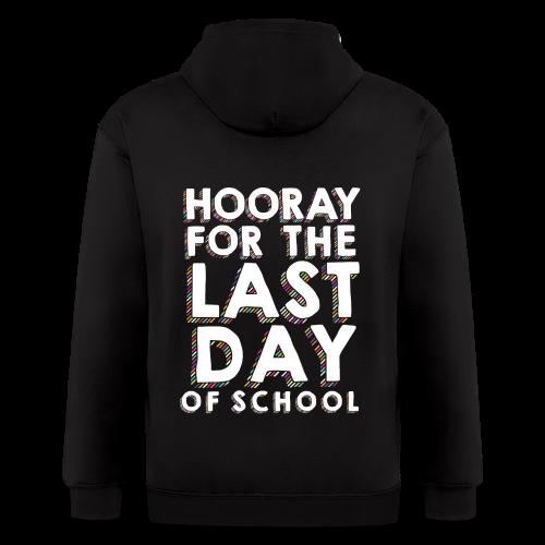 Hooray for the Last Day of School | Sprinkles - Men's Zip Hoodie