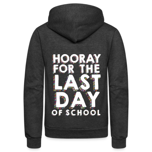 Hooray for the Last Day of School | Sprinkles - Unisex Fleece Zip Hoodie
