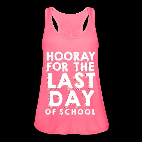 Hooray for the Last Day of School | Sprinkles - Women's Flowy Tank Top by Bella