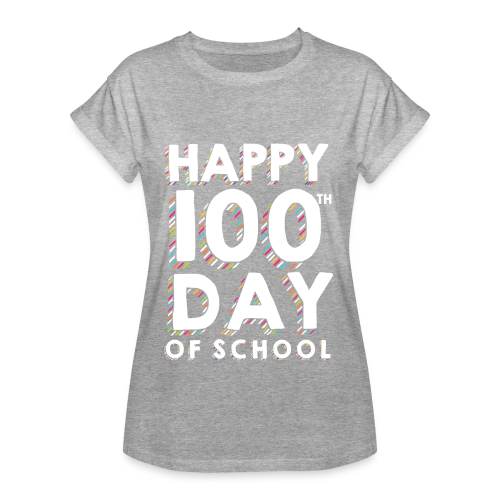 Happy 100th Day of School | Colorful Sprinkles - Women's Relaxed Fit T-Shirt