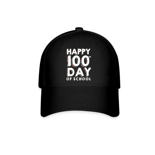 Happy 100th Day of School | Colorful Sprinkles - Baseball Cap