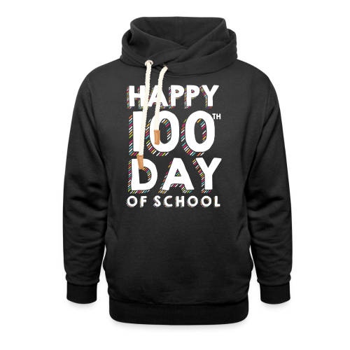 Happy 100th Day of School | Colorful Sprinkles - Shawl Collar Hoodie
