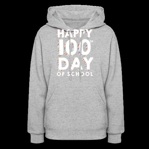 Happy 100th Day of School | Colorful Sprinkles - Women's Hoodie
