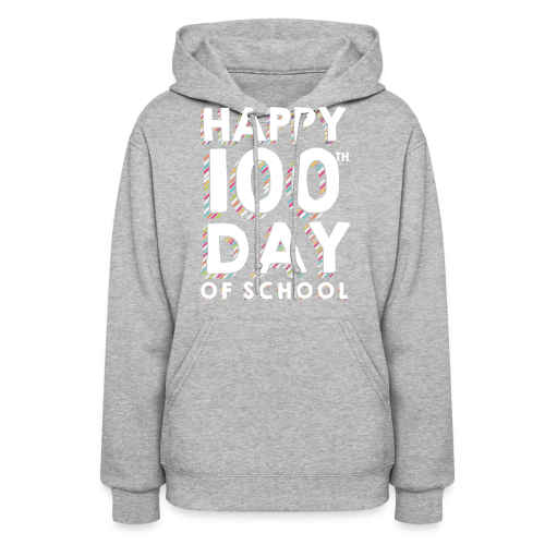 Happy 100th Day of School | Colorful Sprinkles - Women's Hoodie