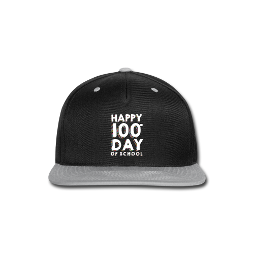 Happy 100th Day of School | Colorful Sprinkles - Snap-back Baseball Cap