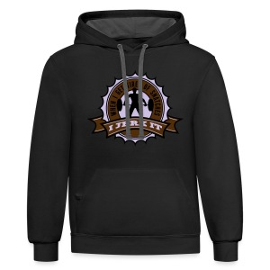 When I Get Tired Of Snatches... (Gold) - Contrast Hoodie
