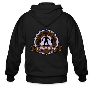 When I Get Tired Of Snatches... (Gold) - Men's Zip Hoodie