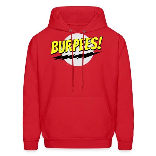Burpees - Red - Men's Hoodie