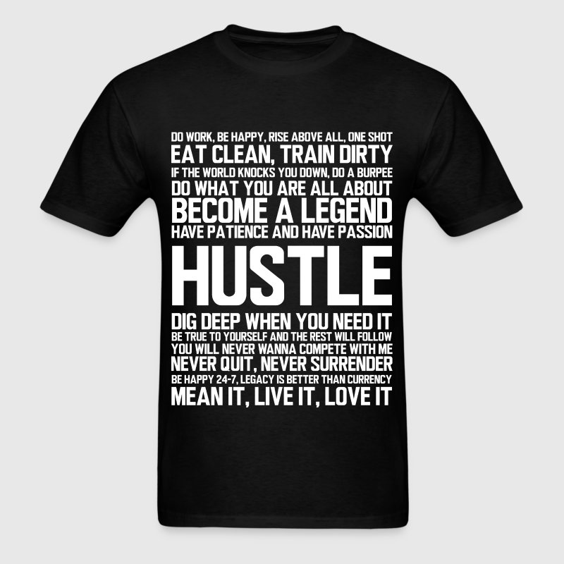 HUSTLE T-Shirts - Men's T-Shirt