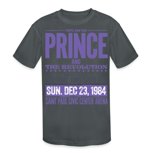 Prince and the Revolution - Kids' Moisture Wicking Performance T-Shirt