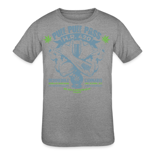 HR 420 - Kids' Tri-Blend T-Shirt