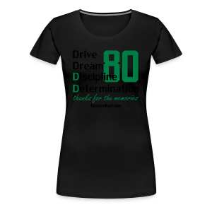 DD #80 Tribute - Women's Premium T-Shirt