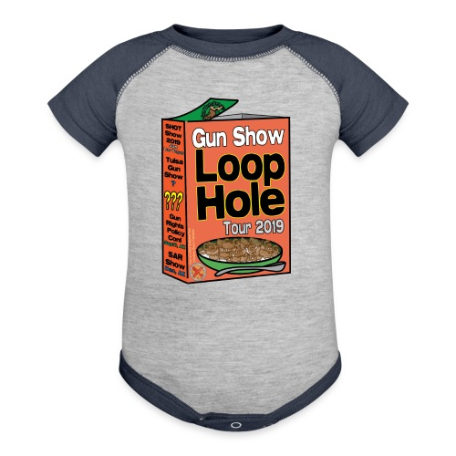 Gun Show Loophole Tour 2019 Cereal - Contrast Baby Bodysuit