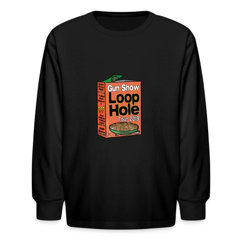 Gun Show Loophole Tour 2019 Cereal - Kids' Long Sleeve T-Shirt