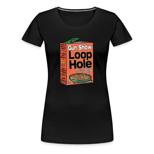 Gun Show Loophole Tour 2019 Cereal - Women's Premium T-Shirt