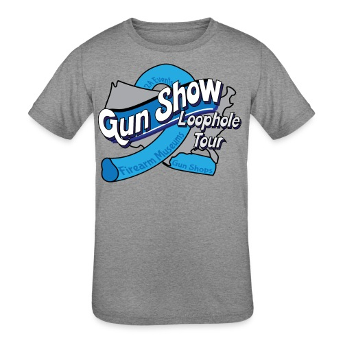 Gun Show Loophole Tour 2018 - Kids' Tri-Blend T-Shirt