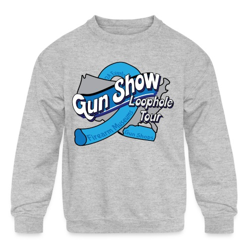 Gun Show Loophole Tour 2018 - Kids' Crewneck Sweatshirt