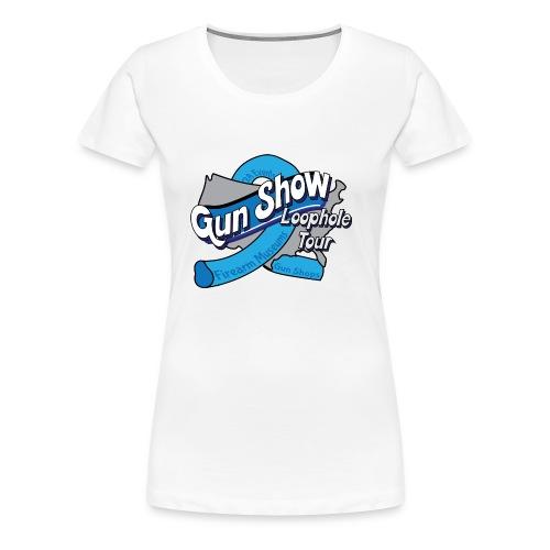 Gun Show Loophole Tour 2018 - Women's Premium T-Shirt