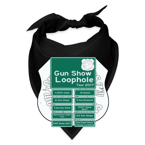 Gun Show Loophole Tour 2017 - Bandana