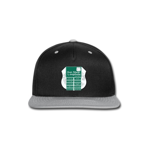 Gun Show Loophole Tour 2017 - Snap-back Baseball Cap