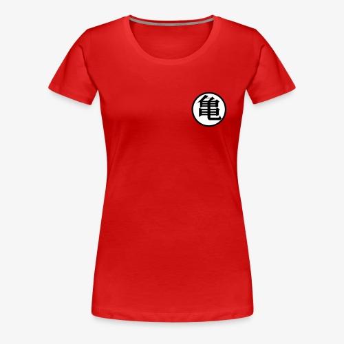 Turtle symbol (Kame) - Women's Premium T-Shirt
