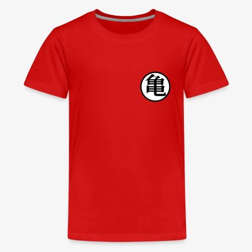 Turtle symbol (Kame) - Kids' Premium T-Shirt