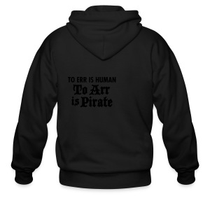 To Arr Is Pirate - Men's Zip Hoodie