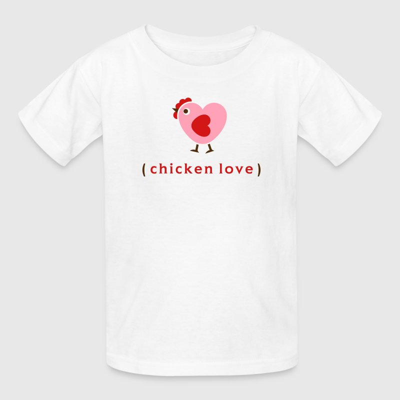 Love chickens? Kids' Shirts - Kids' T-Shirt