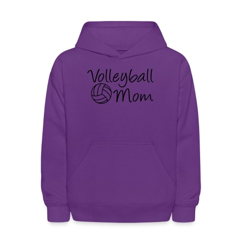 Volleyball Mom match day t-shirt - Kids' Hoodie