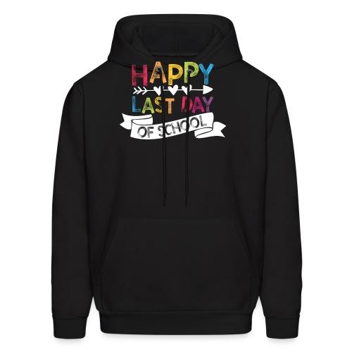Happy Last Day of School | Stamps  - Men's Hoodie